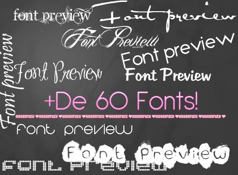 64 Fonts Pack