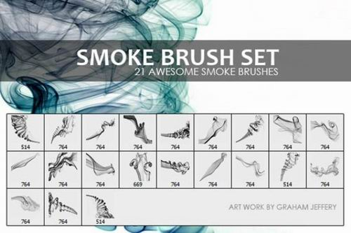Smoke brush set