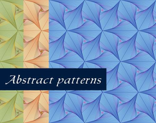 Abstract patterns vector