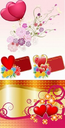 Vector Flower And Love