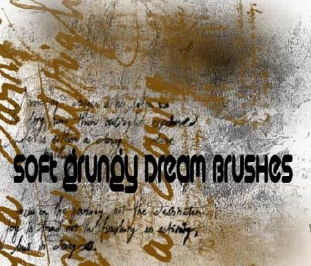 Soft Grungy Dream Brushes