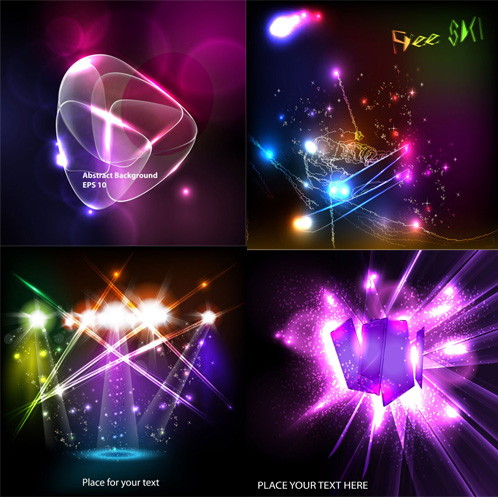 Vector backgrounds light