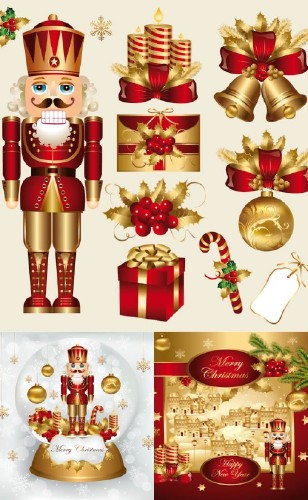 Christmas nutcracker design