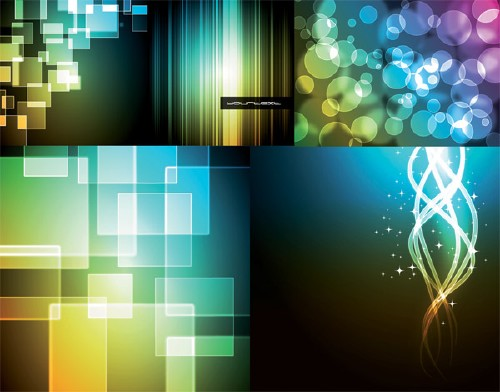 Vector background material