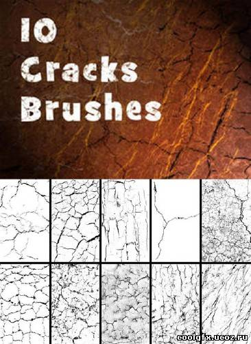 New 10 Cracks Brushes