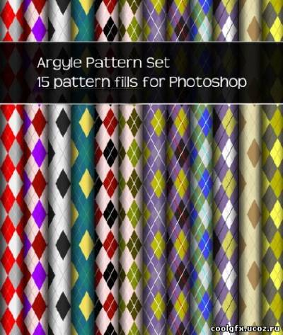 15 pattern fills for Photoshop